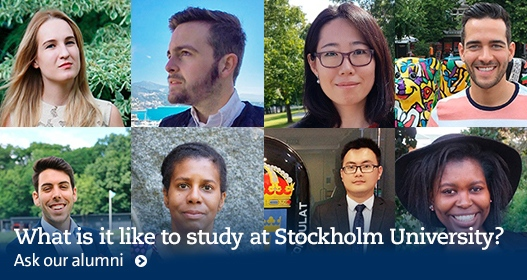 What's it like to study at Stockholm University?